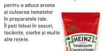 Piure de rosii concentrat, Heinz