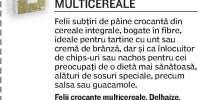 Felii crocante multicereale Delhaize