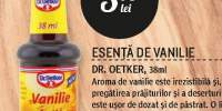 Esenta de vanilie Dr. Oetker