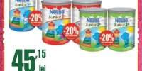 Formula de lapte Nestle 1+/2+/3+ ani