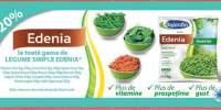 20% la toata gama de legume simple Edenia