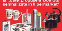 40% reducere la toate produsele Domotti semnalizate in hypermarket