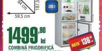 Combina frigorifica Whirlpool WBE3414TS + hota cadou