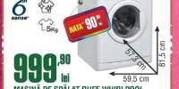 Masina de spalat rufe Whirlpool AWOC 52200