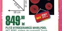 Plita vitroceramica Whirlpool