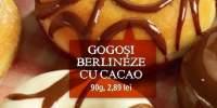 Gogosi berlineze cu cacao