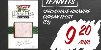 Specialitate Fouantre curcan feliat, Ifantis