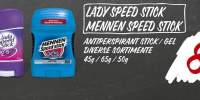 Deodorant Lady Speed Stick/ Mennen Speed Stick
