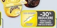 Desert budinca cu gust de ciocolata/vanilie/crema de zahar ars Danette