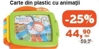 Carte din plastic cu animatii B kids