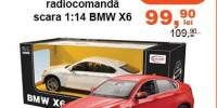Masinuta cu radiotelecomanda scara 1:14 BMW X6