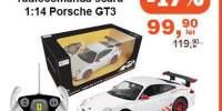 Masinuta cu radiotelecomanda scara 1:14 Porsche GT3