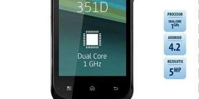 Telefon Utok 351D Black