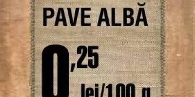 Paine pave alba
