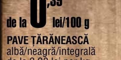 Paine Pave Taraneasca