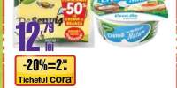 Cascaval de senvis + crema de branza Delaco