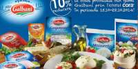 10% reducere la toate produsele din gama Galbani prin tichetul Cora