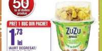 Iaurt degresat/ natural Zuzu 0.1-3% grasime