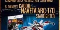 Cumpara Lego Star Wars si primesti cadou o naveta ARC-170 Starfighter!