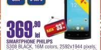 Smartphone Philips S308 Black