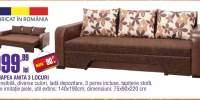 Canapea Anita 3 locuri