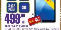"""Tableta 8"""" Evolio Quattro"""