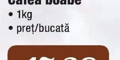 Cafea boabe Platinum