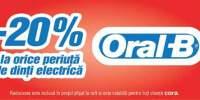 20% reducere la orice periuta electrica Oral-B