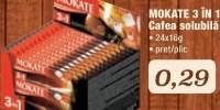 Cafea solubila Mokate 3 in 1