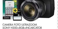 Camera foto Ultrazoom Sony H300 + 8GB+ Incarcator