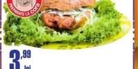 Sandvici cu snitel de pui