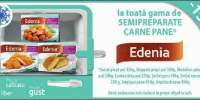 15% reducere la gama de semipreparate din carne Edenia!