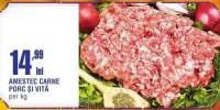 Amestec carne porc si vita
