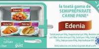 15% la toata gama de semipreparate carne pane Edenia