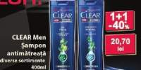 Sampon antimatreata Clear Men