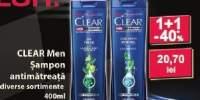Sampon antimatreata Clear Men