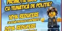 Promotie Lego City cu tematica de politie!
