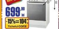 Aragaz gaz Zanussi ZCG21011WA