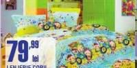 Lenjerie copii bumbac satinat
