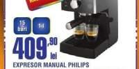 Espressor manual Philips HD8323/39