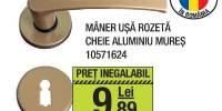 Maner usa rozeta cheie aluminiu Mures