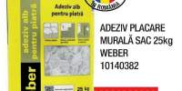 Adeziv placare murala 25 kilograme Weber