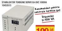 Stabilizator tensiune Servo EA-SVC 1000VA