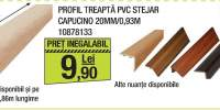 Profil treapta PVC stejar capucino