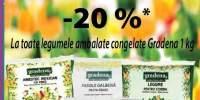 20% reducere la legumele congelate Gradena