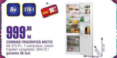 Combina frigorifica Arctic AK 315 P+