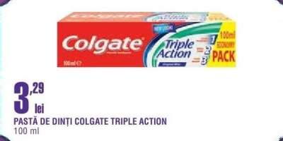 Pasta de dinti Colgate Triple Action
