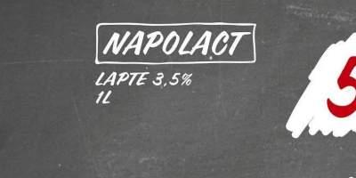 Napolact lapte 3.5% 1 L