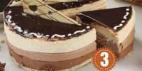 Tort Mousse 3 Chocolat
