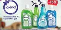 15% reducere la dezinfectantul Igienol!